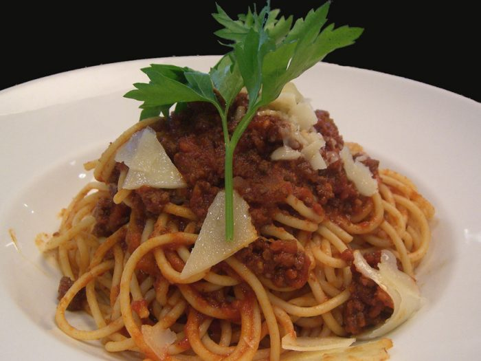 Bolognese for pasta