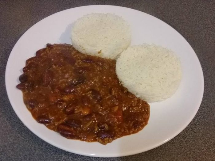 Chili con carne style Joselyne