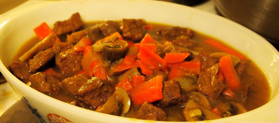 Beef and carrots