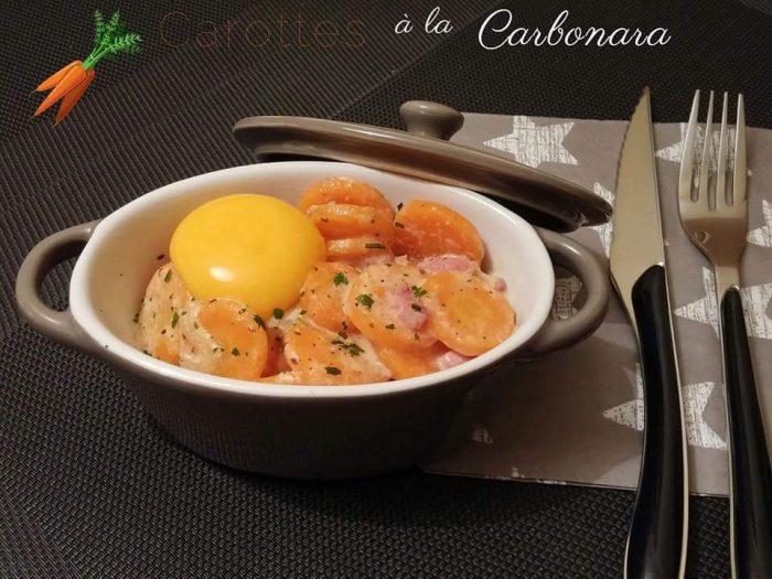 Carbonara carrots