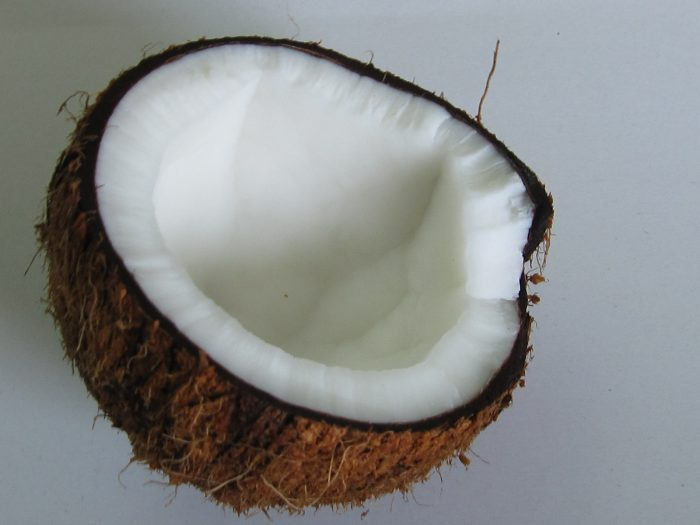 Coconut cream without eggs