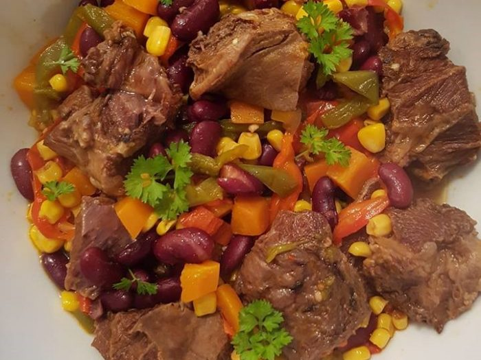 Mexican beef cheek